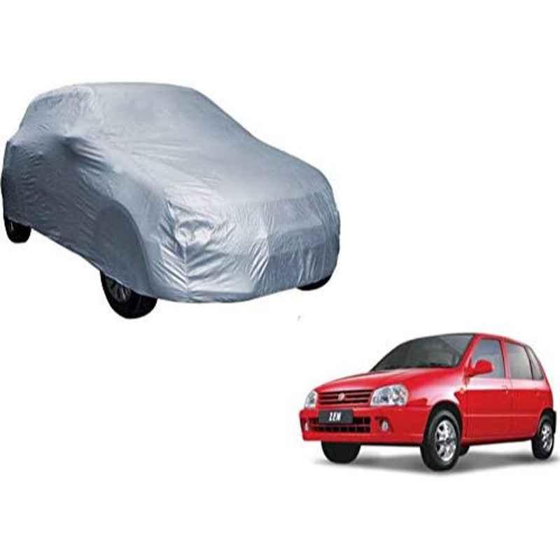 Uncle Paddy Silver Car Cover for Maruti Suzuki Zen