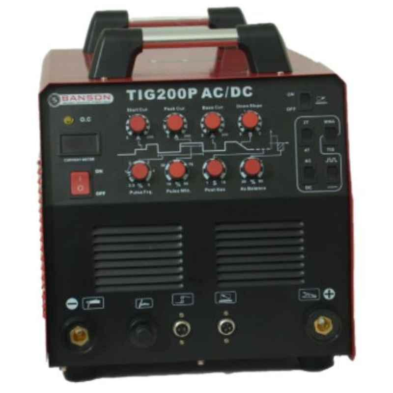 Banson 200A Single Phase AC-DC TIG Welding Machine, TIG 200 AC DC