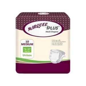 Marquee Plus 28-44 inch Medium Adult Diaper, IDLM10 (Pack of 10)