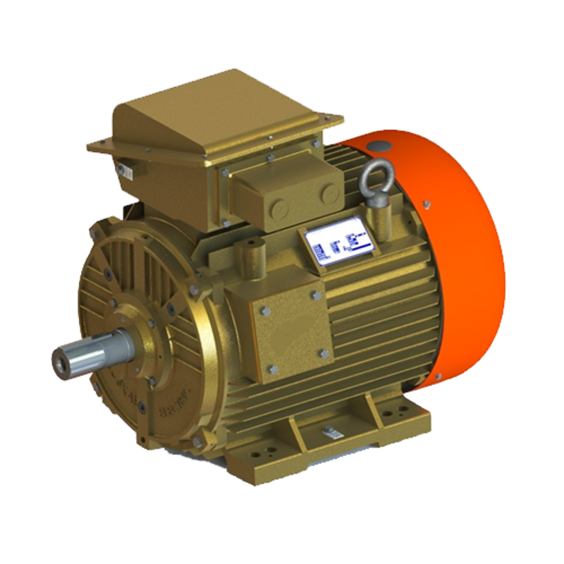 Kirloskar 1.5HP Three Phase Four Pole Squirrel Cage Foot Mounted Induction Motor