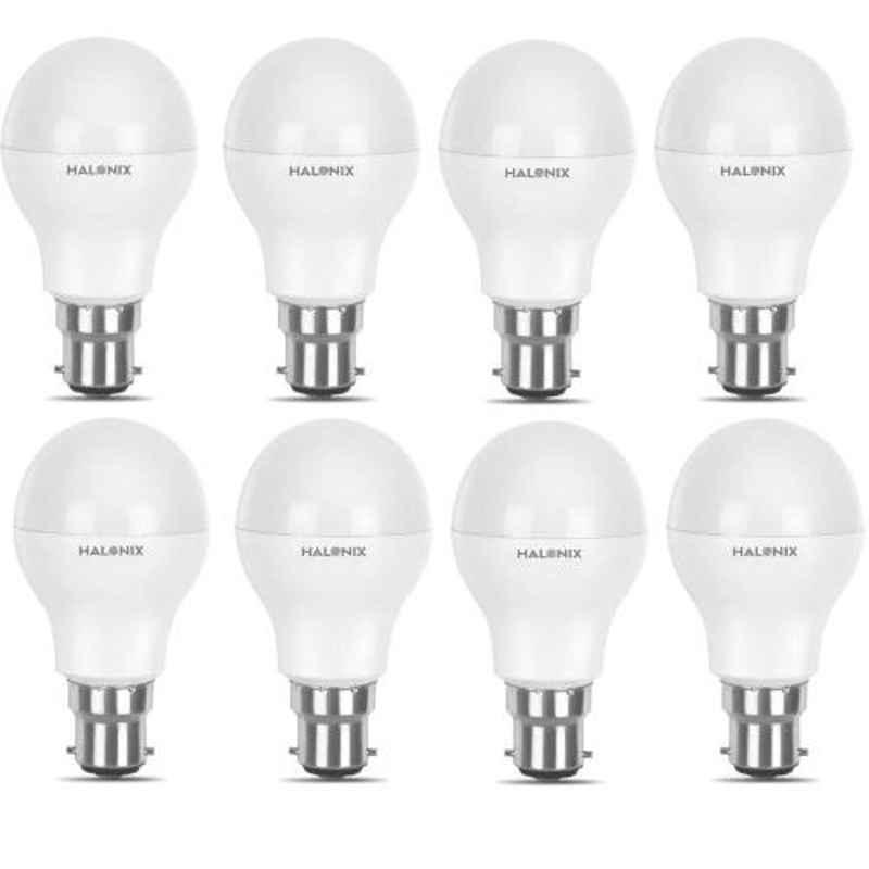 Halonix Astron Plus 10W B22 Cool Day White LED Bulb, HLNX-AST-10WB22CW (Pack of 8)