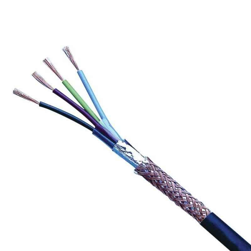 Polycab 0.5 Sqmm 7 Core Individual & Shielded Pair Type Armoured Instrumentation Cable, Length: 100 m