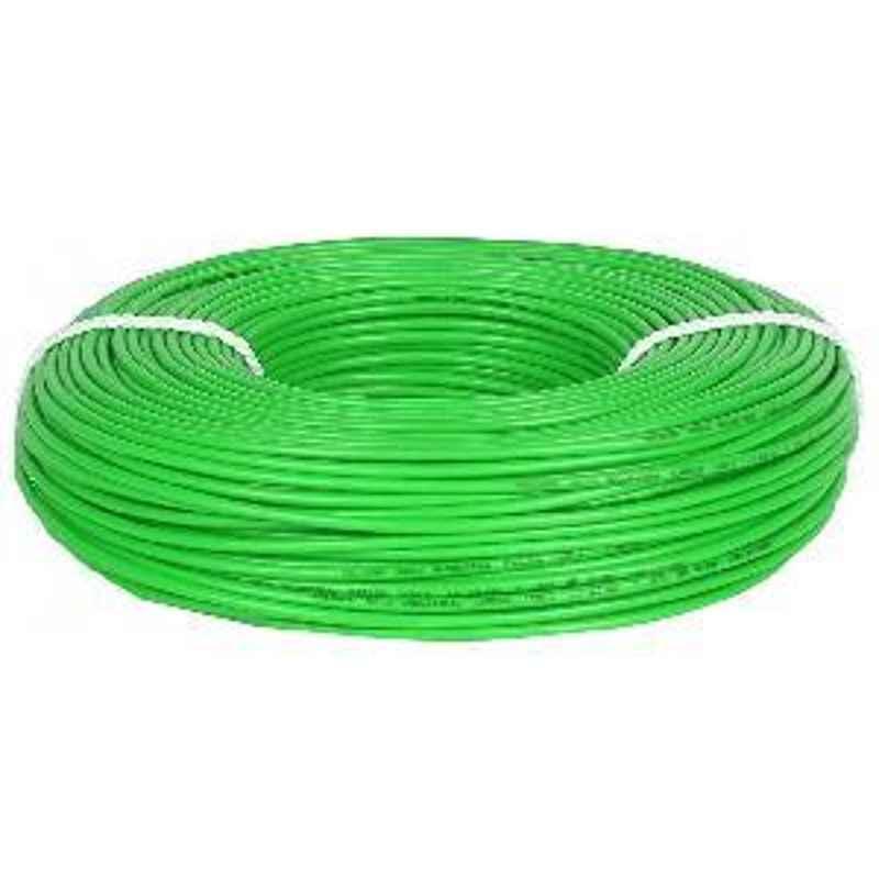 Kalinga 4 Sq.mmLength 90 m FR PVC Insulated Cable Green