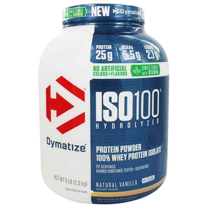 Dymatize ISO-100 5lbs Vanilla Whey Protein
