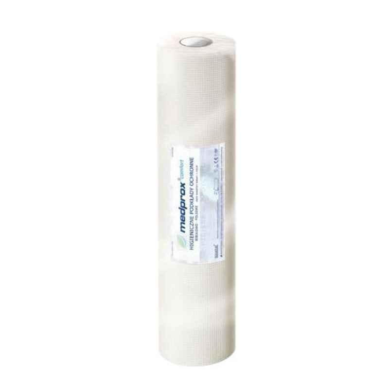 KosmoCare Hygiene 32x127 inch White Protective Sheet Roll, IXMPS8050