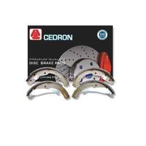 Cedron 4 Pcs L.S-105T Rear Brake Shoes Set for Tata Indica TVS Type, 270242300129