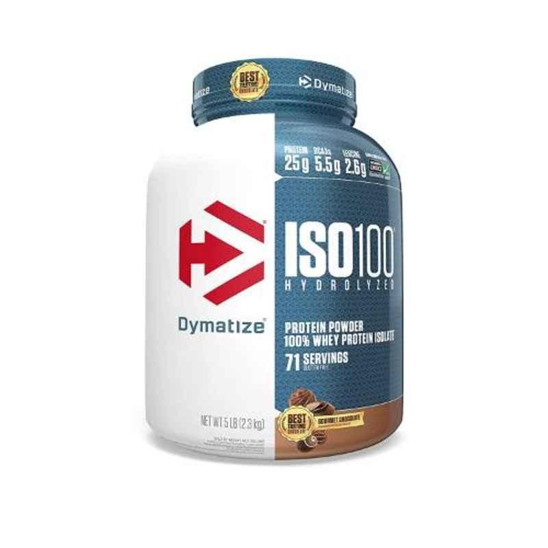 Dymatize ISO-100 5lbs Fudge Brownie Whey Protein