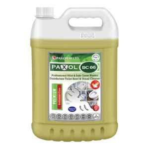 Paxol BC 66 Professional Mild & Safe Germ Blaster Disinfectant Toilet Bowl & Urinal Cleaner, 5L
