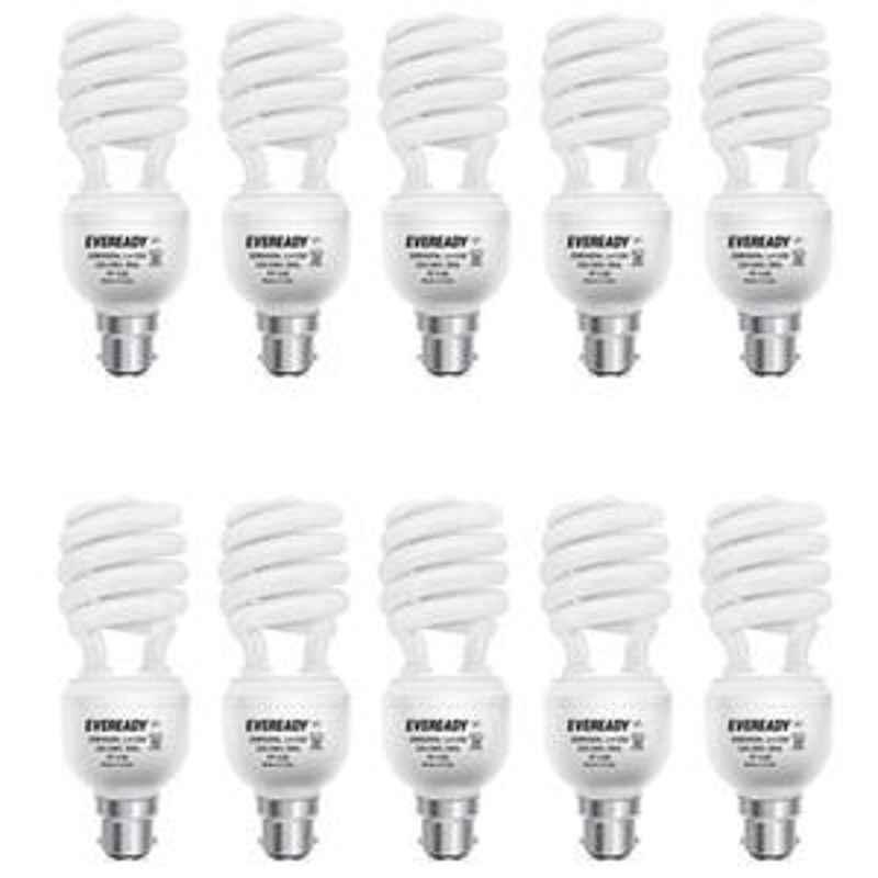 Eveready 15W Spiral 10pcs HPF White CFL Bulb