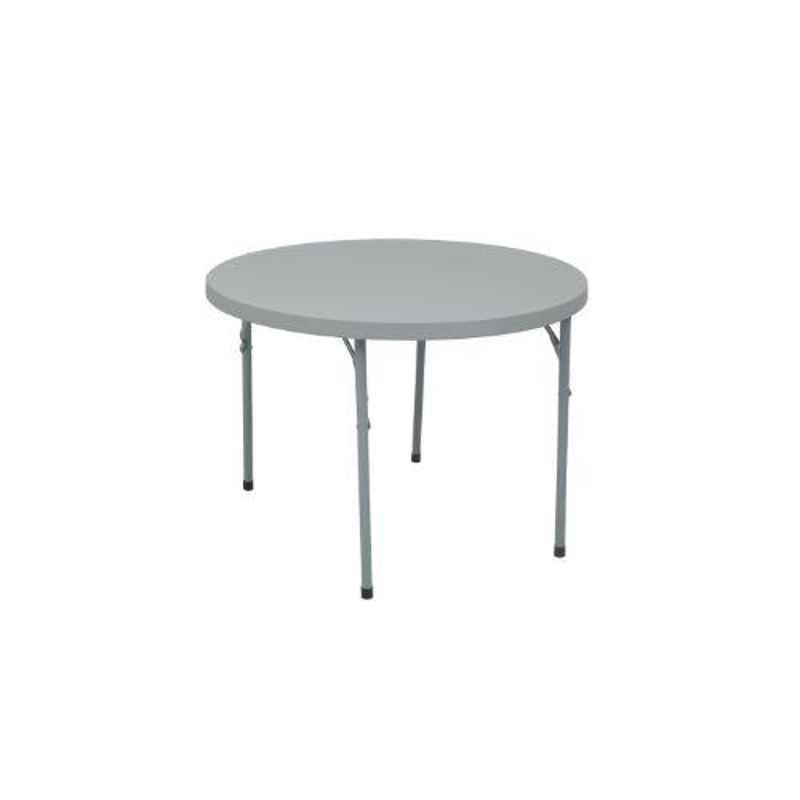Supreme Disc Grey Foldable Round Table