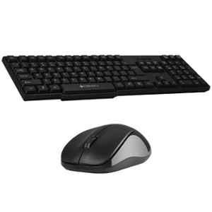 Zebronics ZEB Companion 107 Black Wireless Keyboard & Mouse Combo with 1 Year Warranty