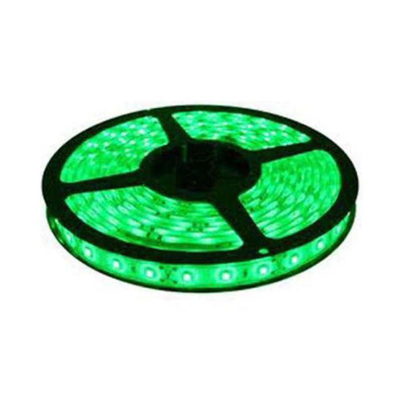 Ever Forever 5m Green Non Waterproof Self Adhesive LED Strip Light with Adapter