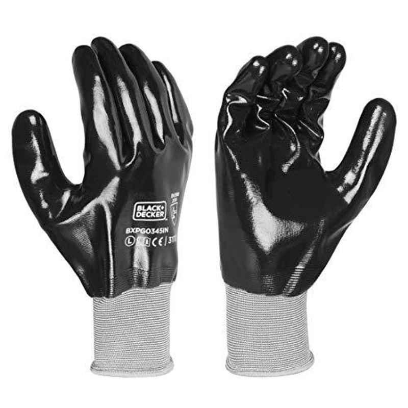 Black & Decker Supported Hand Gloves , BXPG0345IN-L
