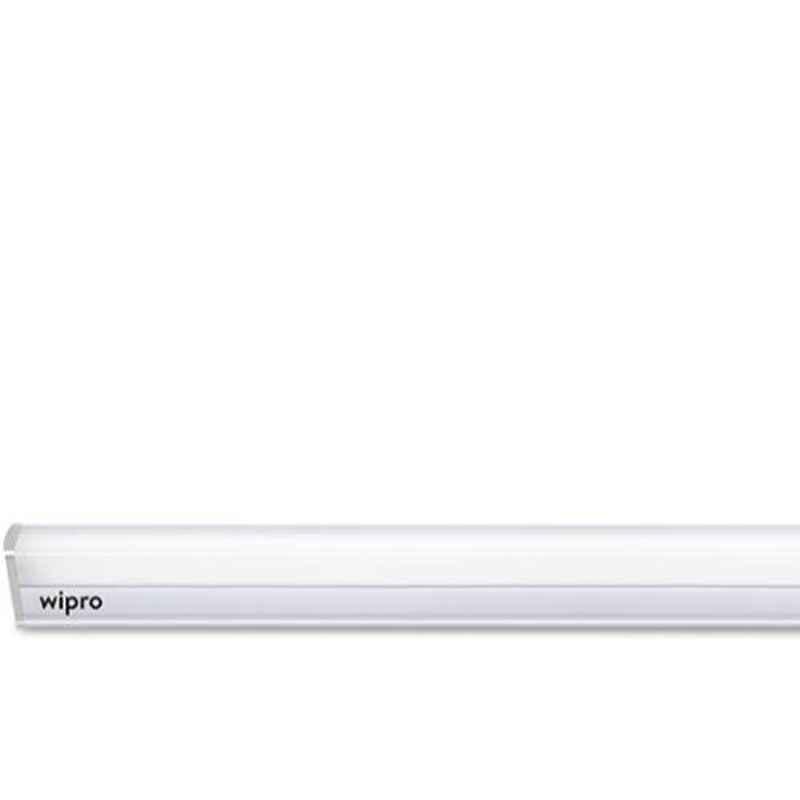 Wipro Garnet 10W Cool Day White LED Batten Light, D531065 (Pack of 4)