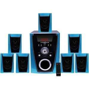 Krisons Polo 7.1 Channel Blue & Black Bluetooth Home Theatre