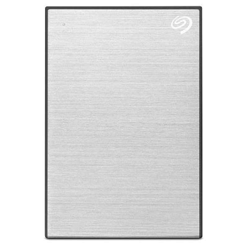 Seagate 2TB USB 3.0 Slim Portable Backup Plus Silver External Hard Disk Drive for PC, Laptop & Mac, STHN200401