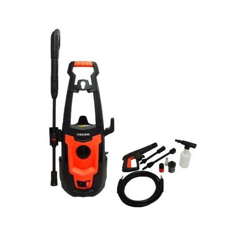 Mecano Smart-1500 1500W Black & Orange Car Pressure Washer