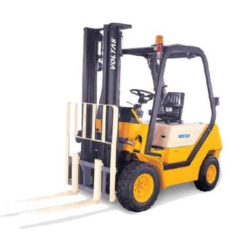 Voltas 3000kg 3 Stage Diesel Powered Forklift, DVX 30 FC BCD HVT 2600