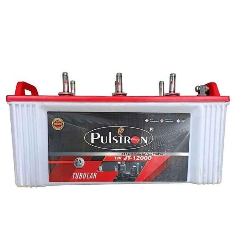 Pulstron 12V 120Ah Dry Jumbo Tubular Inverter Battery, JT-12000PI