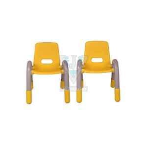 VJ Interior 11.5 inch Yellow Volver Engineering Plastic Kids Chair, VJ-239