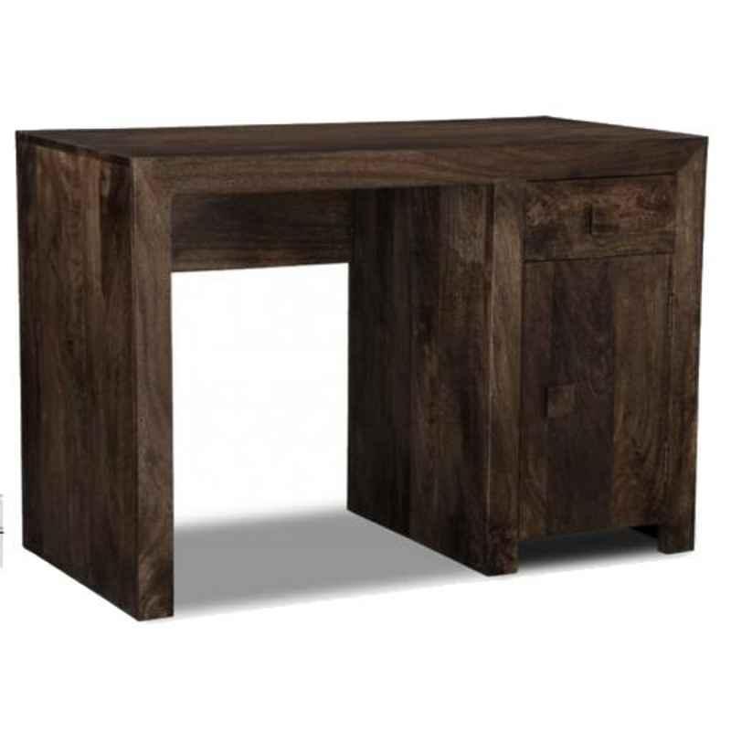The Attic 120x50x80cm Mango Wood Walnut Munster Study Table, KL-1936