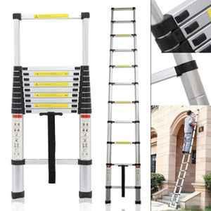 Bigapple 150kg 10 Step 2.9m Telescopic Aluminium Folding Step Ladder, BA-C290