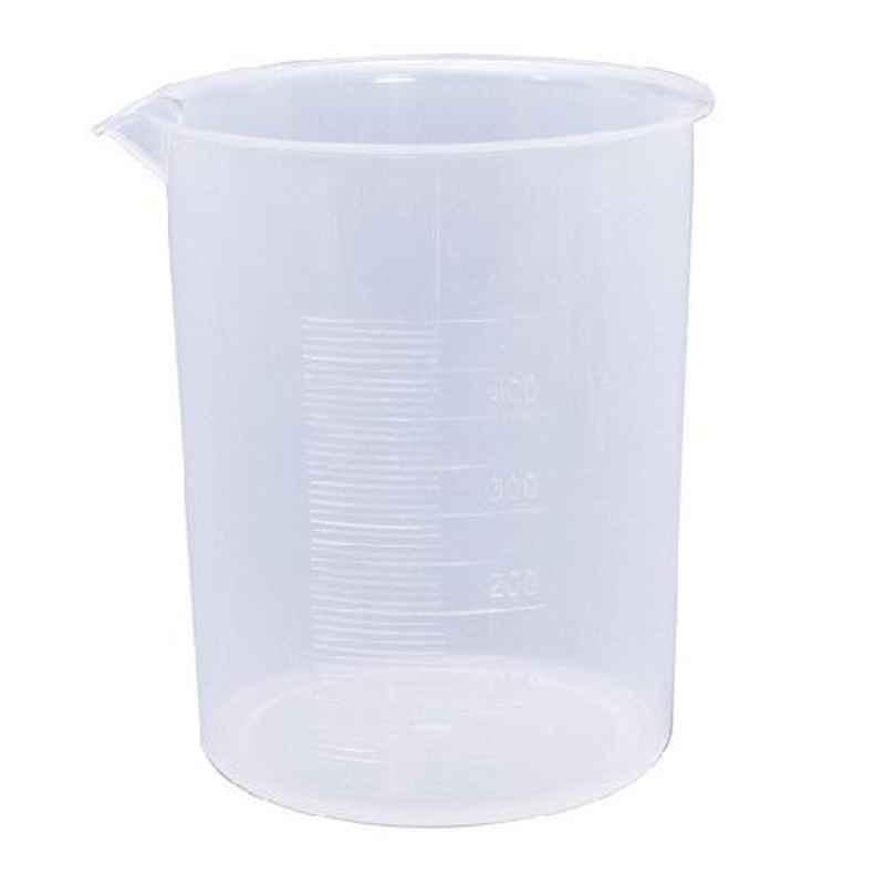 Bellstone 250ml White Plastic Beaker, 85963