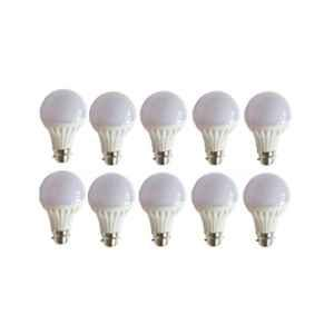 Urja Lite 7W B-22 White LED Bulbs (Pack of 10)