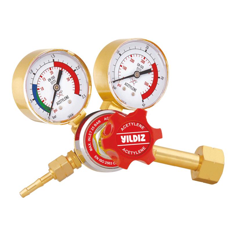 Yildiz Star 25-1.5 bar Acetylene Pressure Regulator, 5411