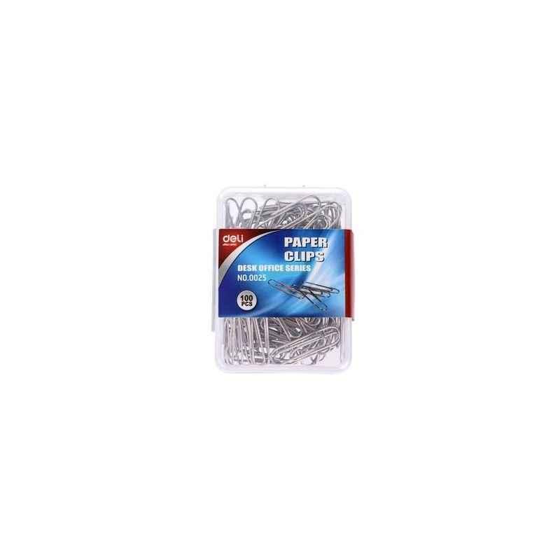 Deli Paper Clip Box, W0025 (Pack of 20)
