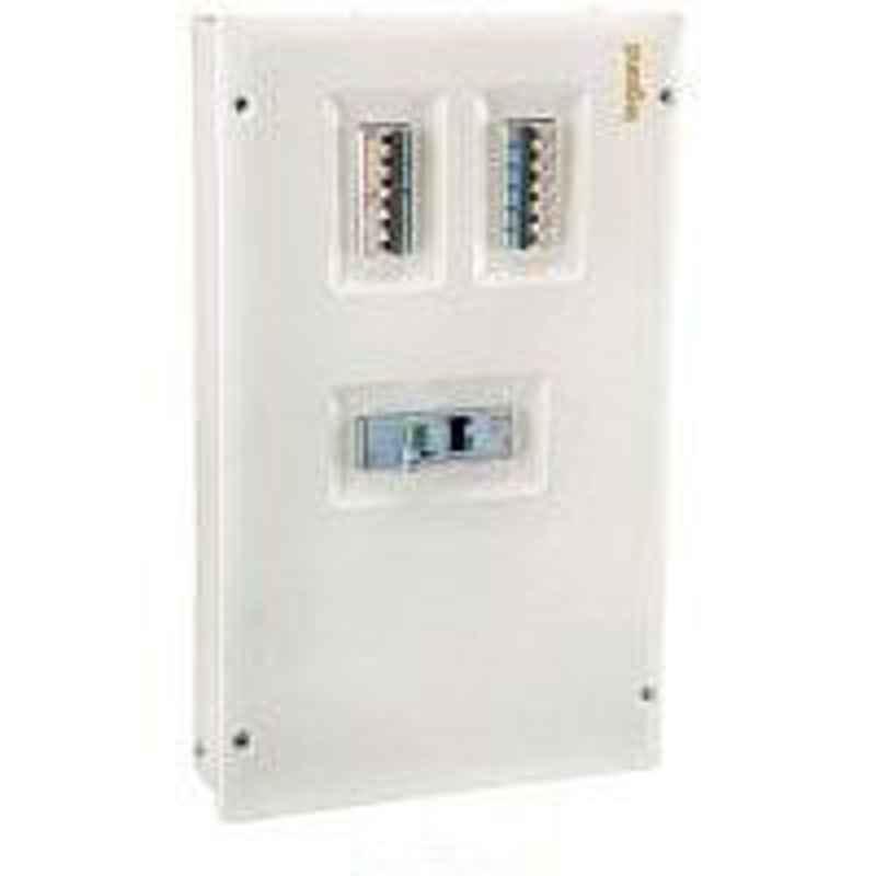Legrand Ekinox³ 6 Way IP43 VTPN Distribution Board with Acrylic Door, 5077 31