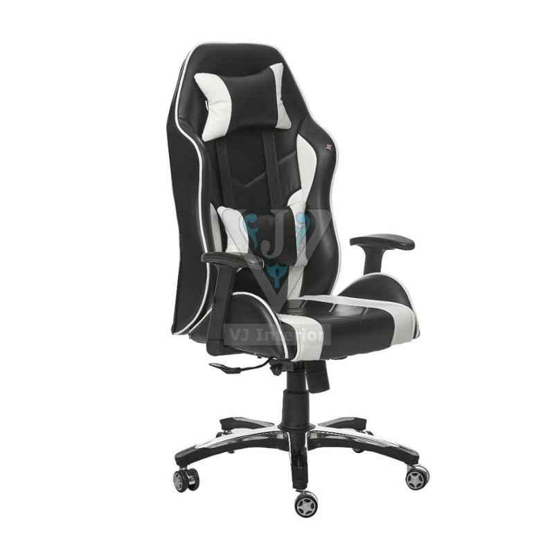 VJ Interior 20-23x19-24 inch Black Leatherette Gaming Any Time Chair, VJ-1926