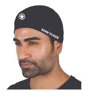 Just Rider Black Assorted Multi-Purpose Under Helmet Cap (Pack of 5)