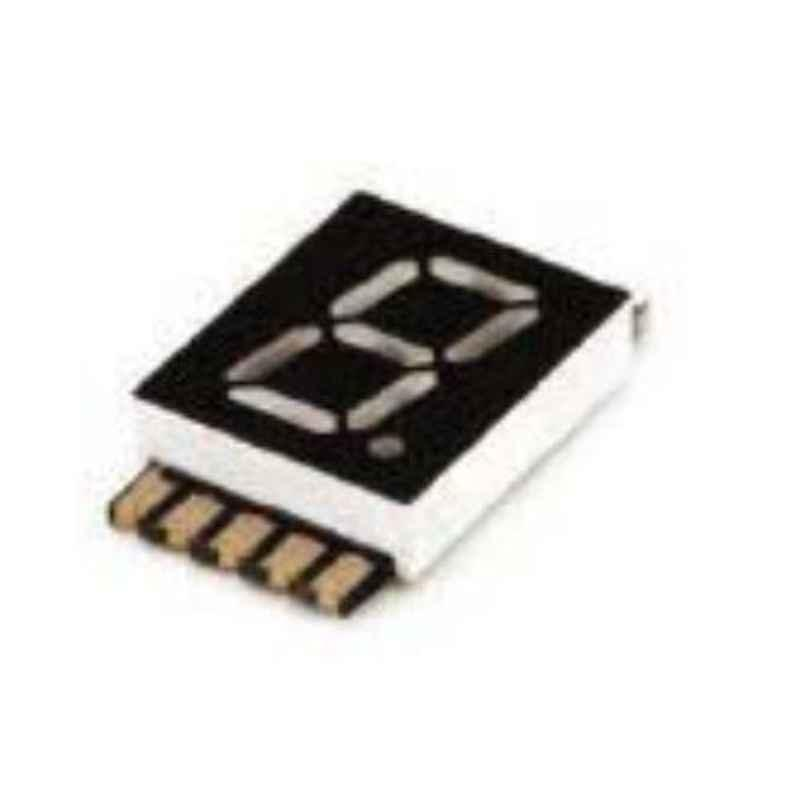 Oasistek 100 Pcs 0.30 inch Ultra Red Single Digit SMD Display Module Set, TOS-F3102