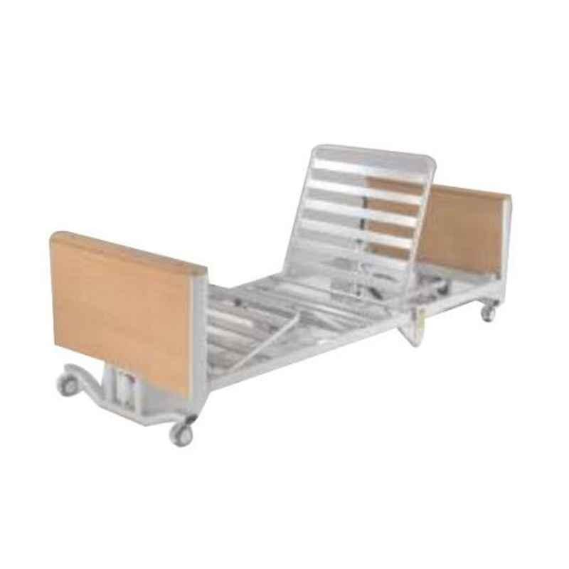 Aar Kay 6.5x3ft Motorized 5 Function ICU Bed with Mattress & Side Railings
