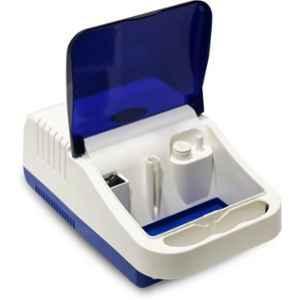 Easycare White Piston Compressor Nebulizer with Compartment, EC7020