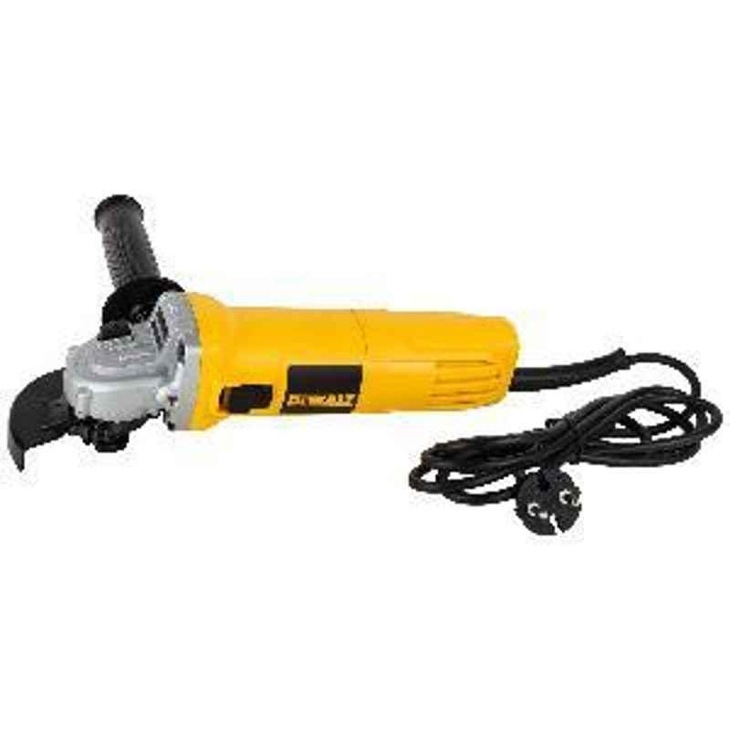 Dewalt DW802-IN Small Angle Grinder with Slider Switch (850W, 100 mm)