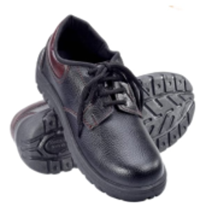 Shree Arc 950g Low Ankel ACE Steel Toe Black Safety Shoes, Size: 8