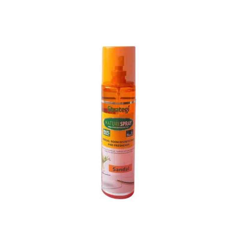 Herbal Strategi Nature Spray 250ml Sandal Herbal Room Disinfectant & Freshener
