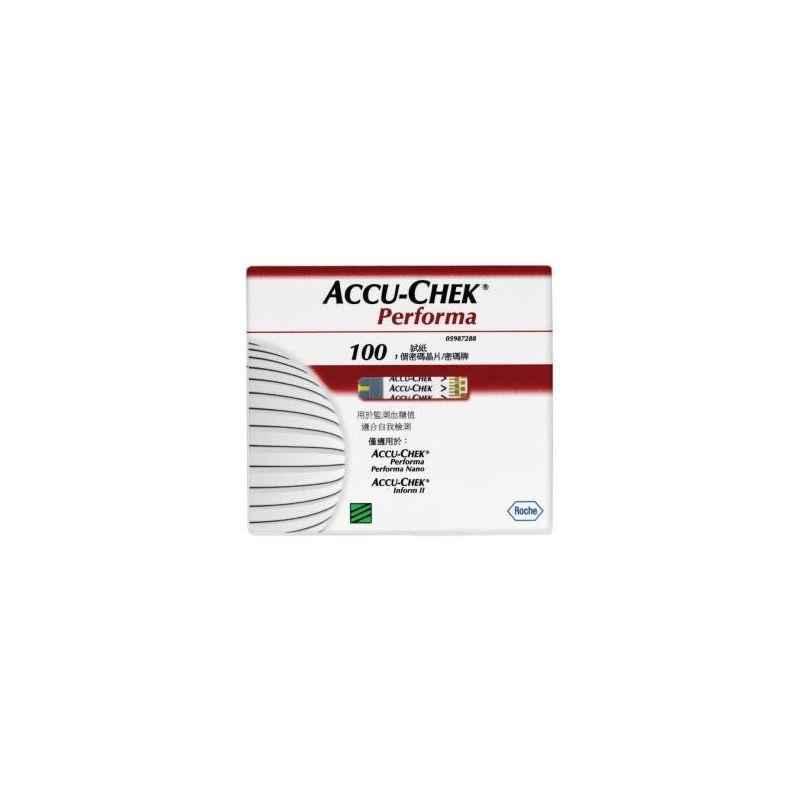 Accu-chek Performa Test Strips (100 Strips)