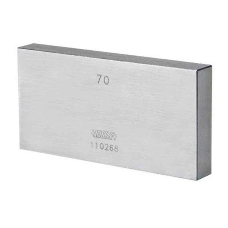 Insize 1.49mm Grade 1 Individual Steel Gage Block with Inspection Certificate, 4101-B1D49