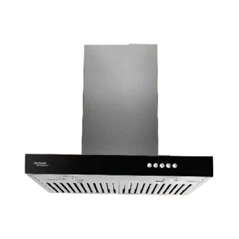 Hindware Zita 60 Inox Chimney, 512403, Size: 60 cm
