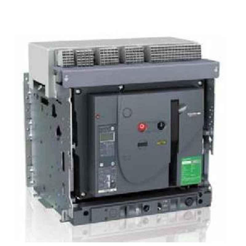 Schneider Draw Out Type Circuit Breaker 4000A 4 Pole MVS40N4NW2L