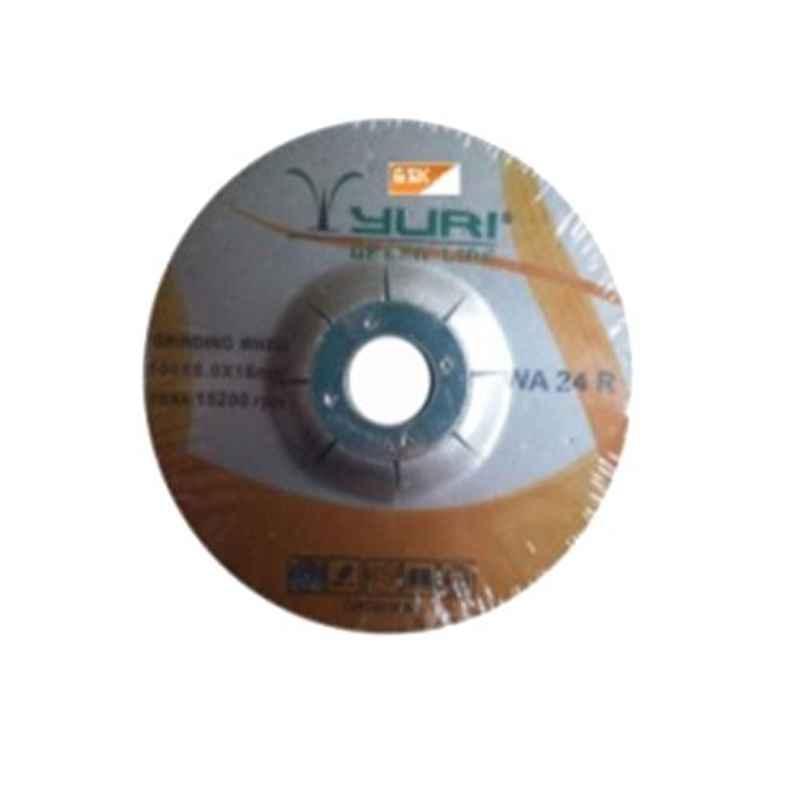 GSK Cut 100x6x16mm DC Grinding Wheel, WA 24 R