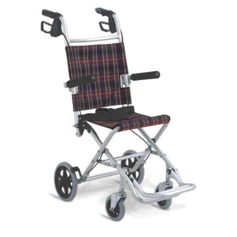 Easycare Traveling Portable Aluminum Light Weight Wheelchair, EC9001L