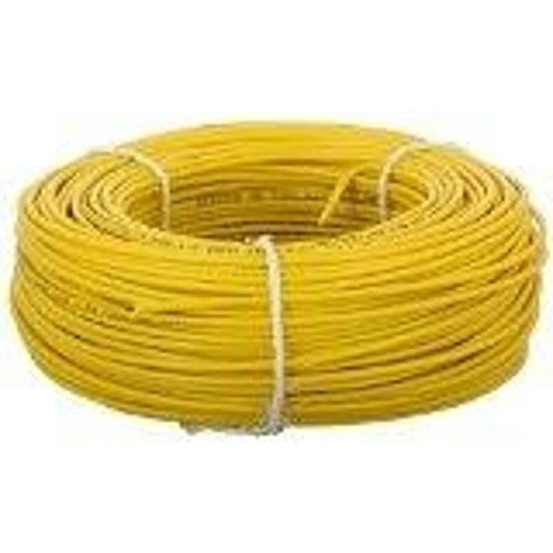 Kalinga 10 Sq.mmLength 90 m FR PVC Insulated Cable Yellow