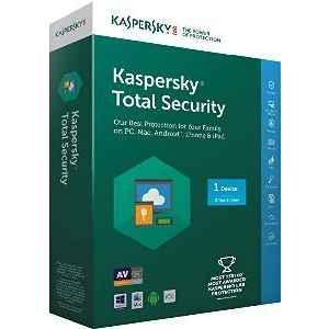 Kaspersky Total Security 1PC 3Years For Windows Pcs / Laptop & Mac OS