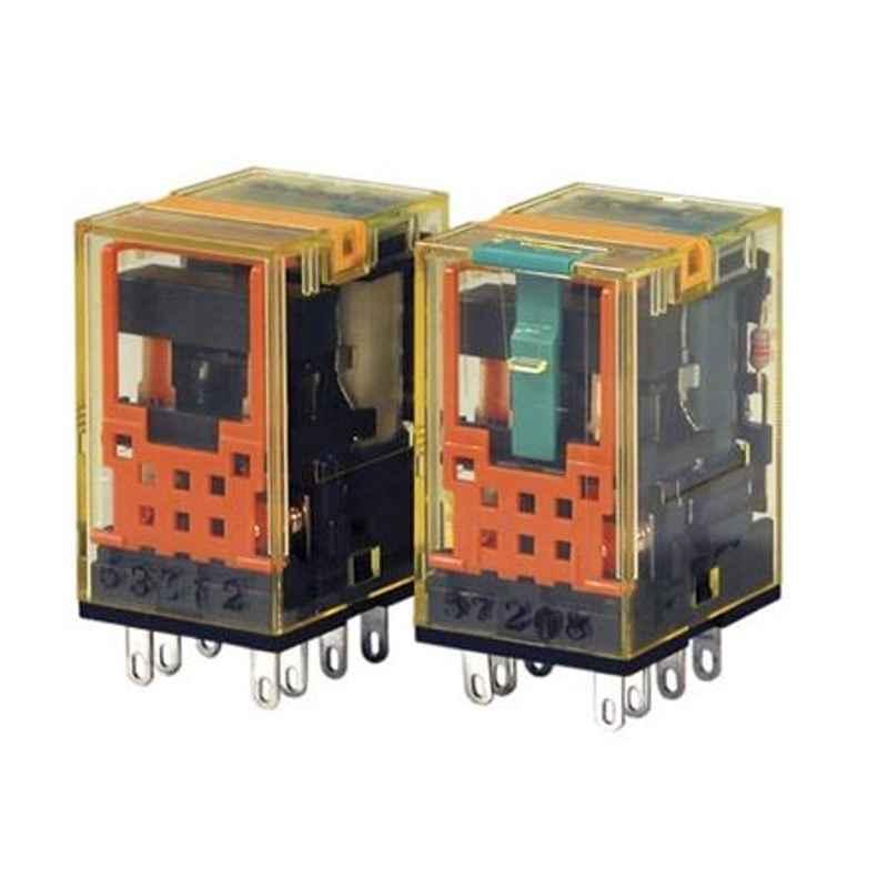 Idec 10A 24V DC DPDT PCB Mount Relay, RU2V-NF-D24