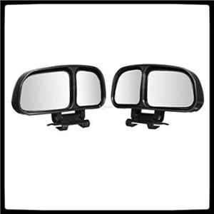 Automaze 2 Pcs 3R-028 Car Rear View Blind Spot Parking Mirror Set