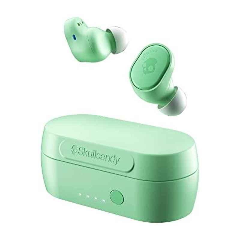 Skullcandy Sesh Evo True Pure Mint Bluetooth Earbuds with Mic, S2TVW-N742